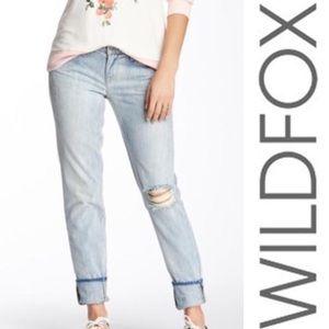 NWT Wildfox Carmen Low-Rise Skinny, 27